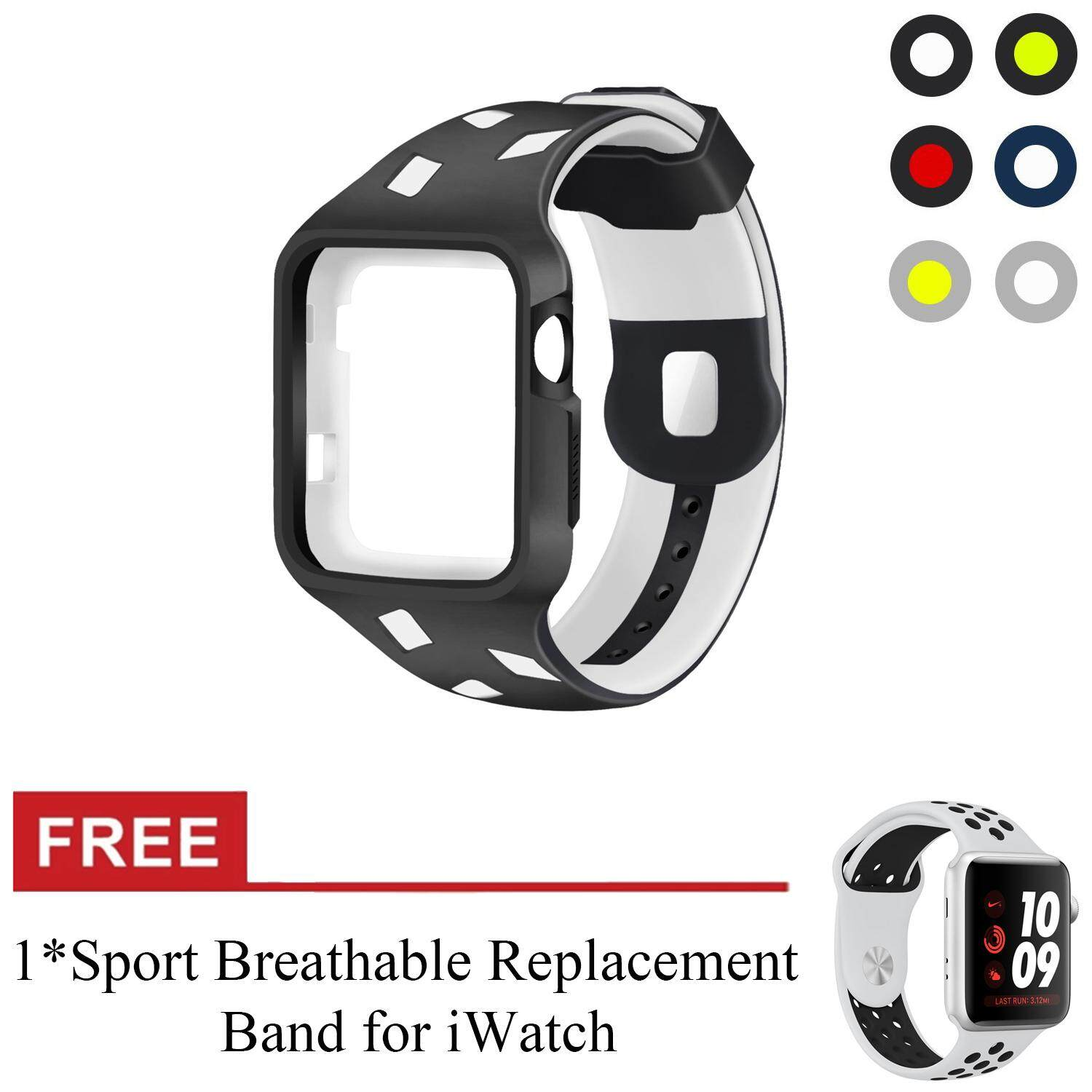 Cek Harga Apple Watch Series 3 Nike 42mm Space Grey Aluminum Case Sereis 1 Alumunium Sport Smartwatch Black For Band Silicone Replacement Iwatch Strap Waterproof