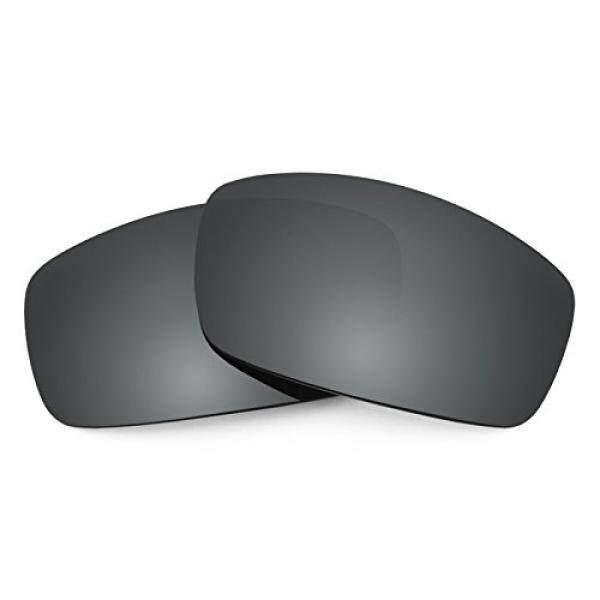 Revant Terpolarisasi Lensa Pengganti untuk Spy Optic Cooper XL Hitam Chrome Mirrorshield-Intl