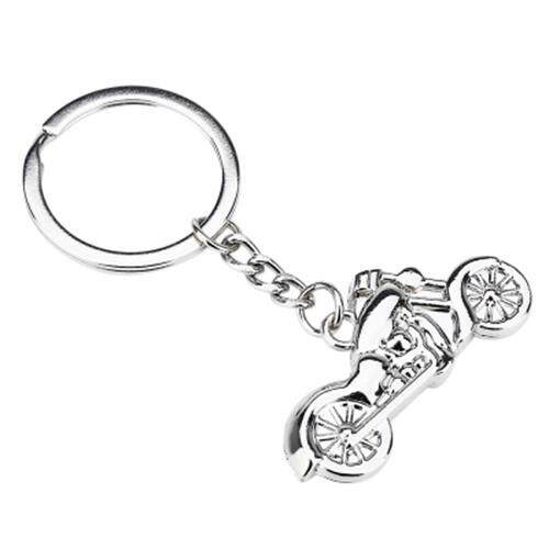 CAR KEY RING CLASSIC MOTORCYCLE DESIGN SURFACE POLISHING TEXTURE HAND FEELING ZINC ALLOY MATERIAL