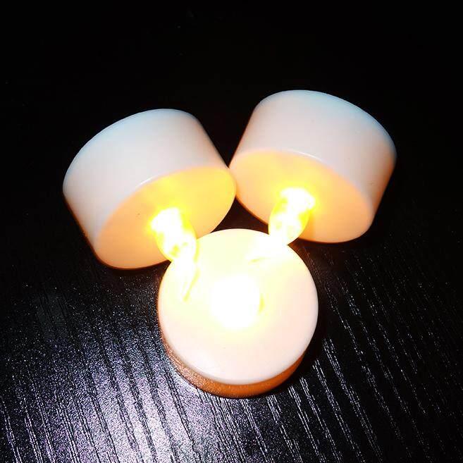 Fitur Rongdehua 12pcs Batteries Included Tea Light Flickering