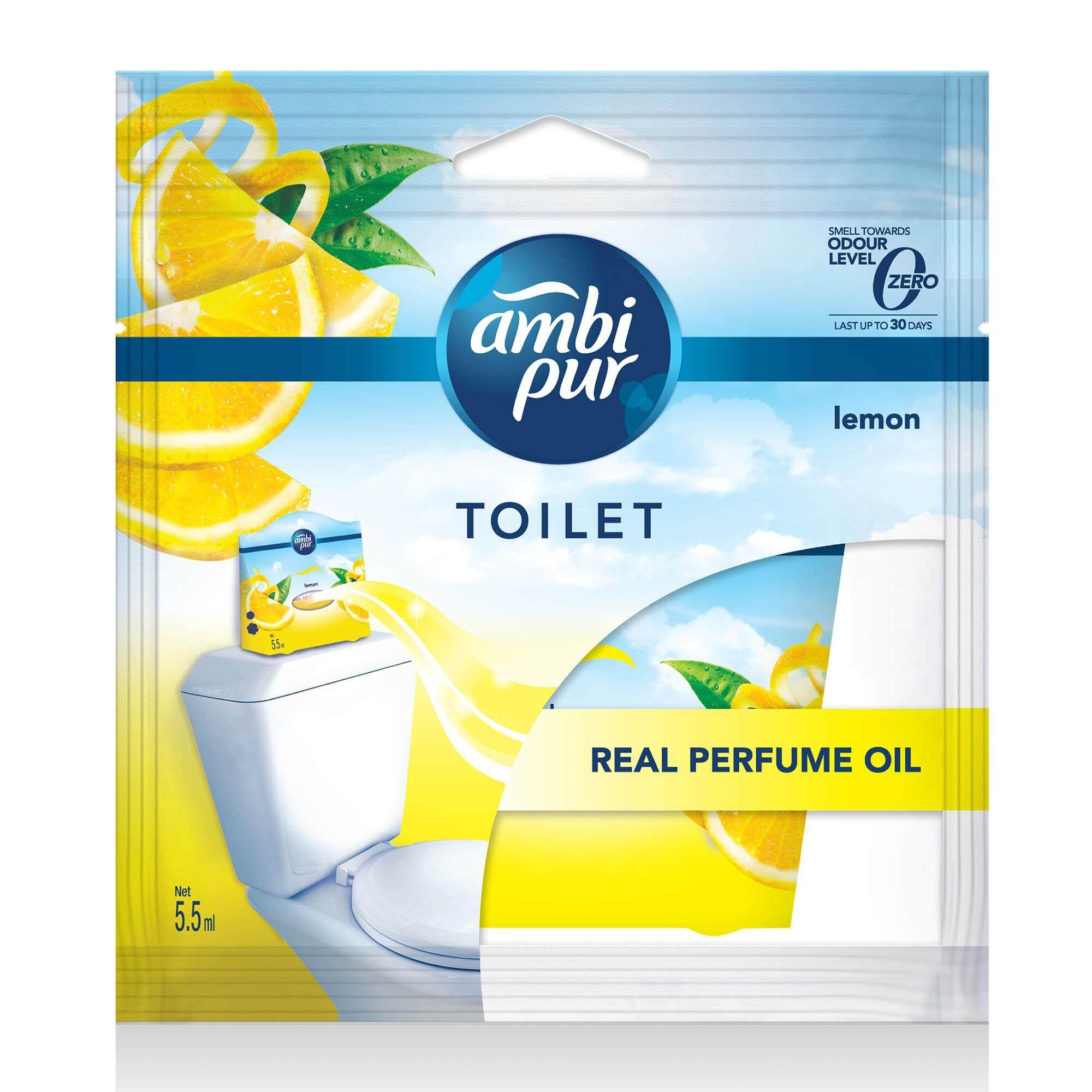 Ambi Pur Toilet Fresh Air Freshener Lemon 5.5ML