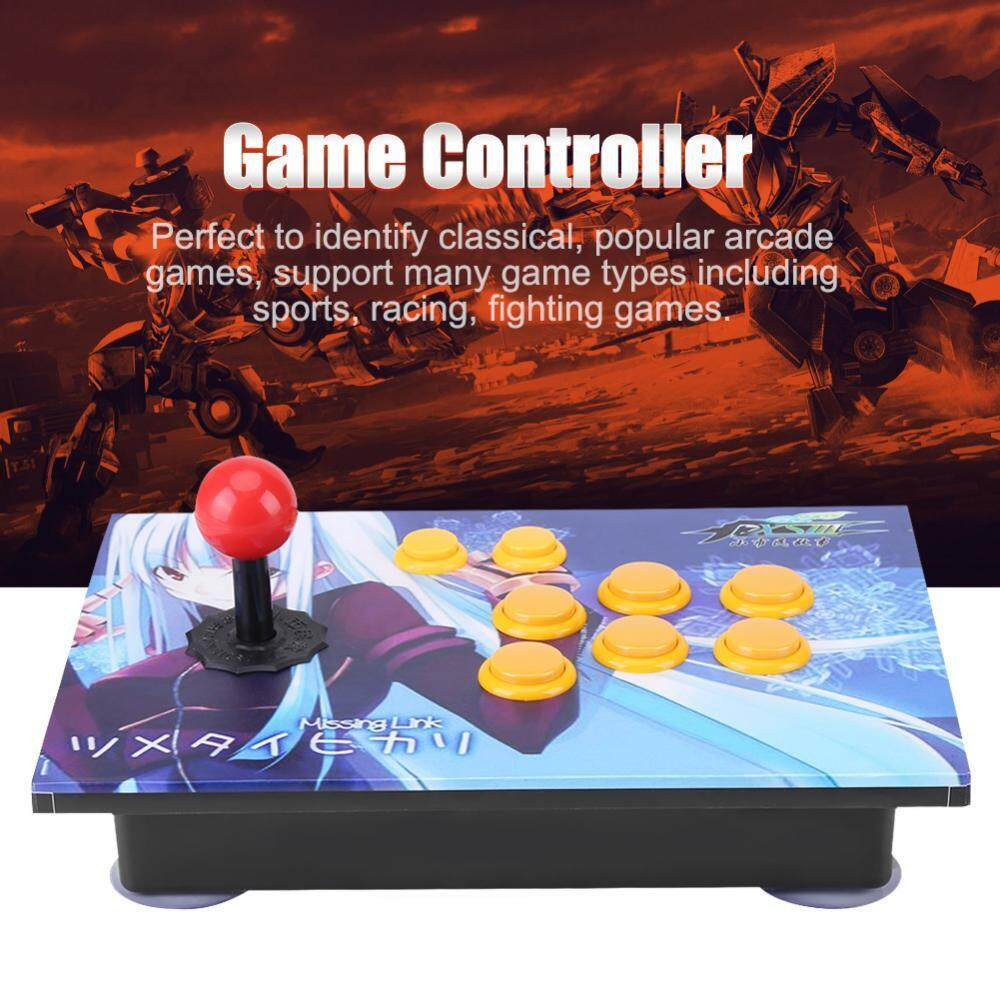 Joystick USB Stick Buttons Controller Control Device for PC Computer Arcade Game - intl