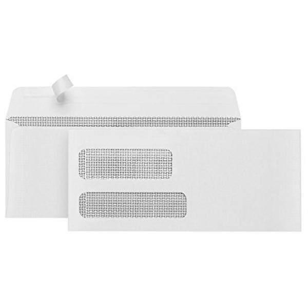 500 #9 Amplop Keamanan Jendela Ganda-Dirancang untuk Quickbooks Faktur dan Bisnis Pernyataan dengan Diri Segel Kulit dan segel Tutup-3 7/8X8 7/8-Internasional