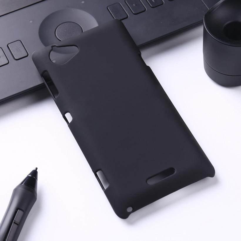 Taoyunxi Telepon Karet Wadah Plastik untuk Sony Xperia L S36h C2105 C2014 4.3 Inch Cover Casing Ponsel Minyak Dicat Case Tas Hood shell Perumahan Kulit