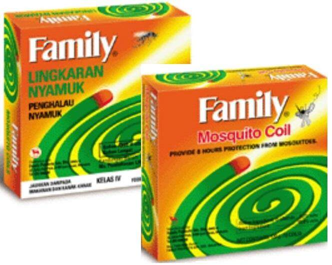 Family Mosquito Coil FREE Coil Box (Container)