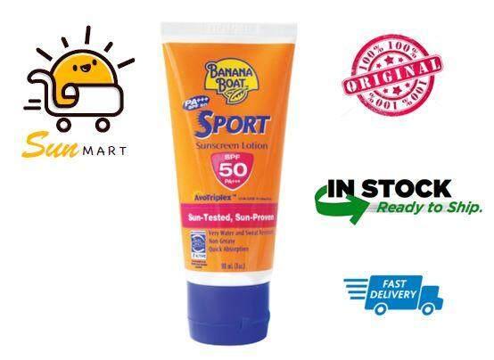 Banana Boat Sport Sunscreen Lotion SPF 50 PA+++ (90ml)