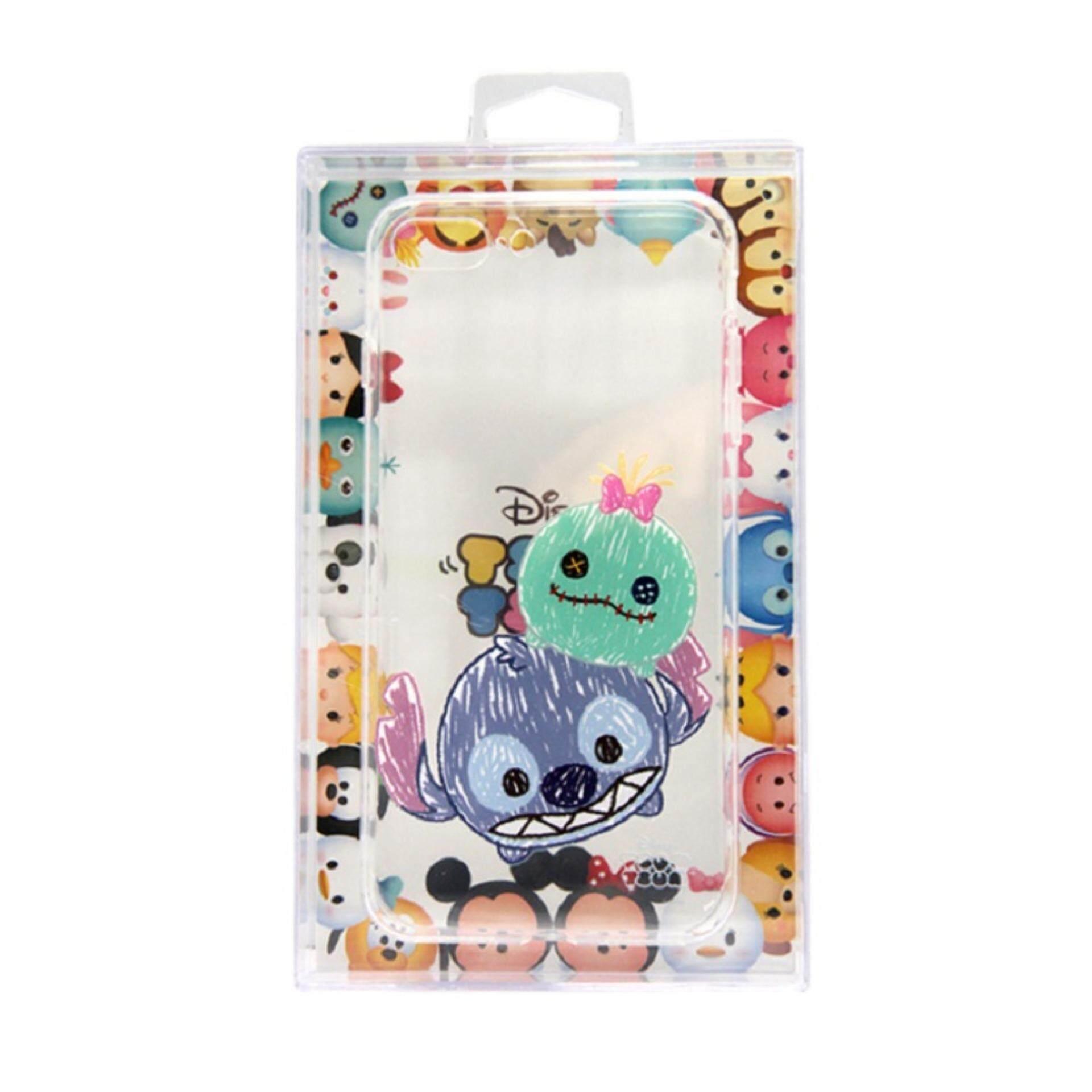Disney Tsum Tsum Transparent iPhone 7 Plus Case - Stitch