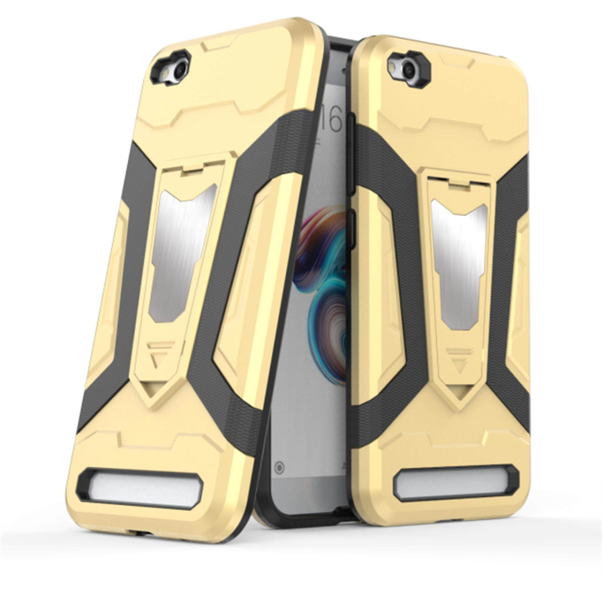 Features Mi 5a Redmi Hongmi Case Iron Man Armor Tactical Grip Xiaomi Gold Grey Tam Baru Kickstand Shockproof Hard Bumper Shell