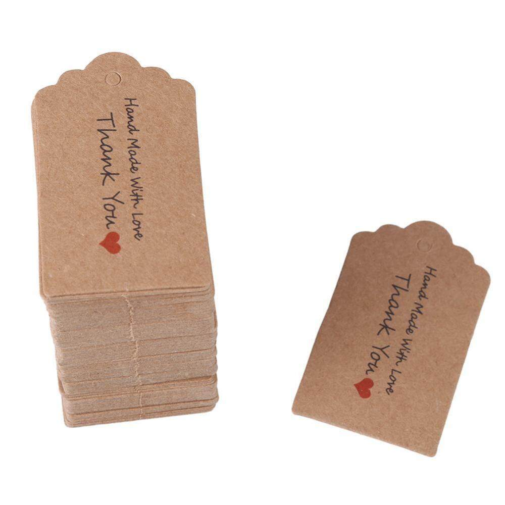 Jual Kartu Ucapan Tag Kado Umahkertas Undangan Pernikahan Kuning 100 Pcs Coklat Buatan Tangan Menggantung Label Penanda Hadiah Berkat Dessert Kategori Pakaian Harga