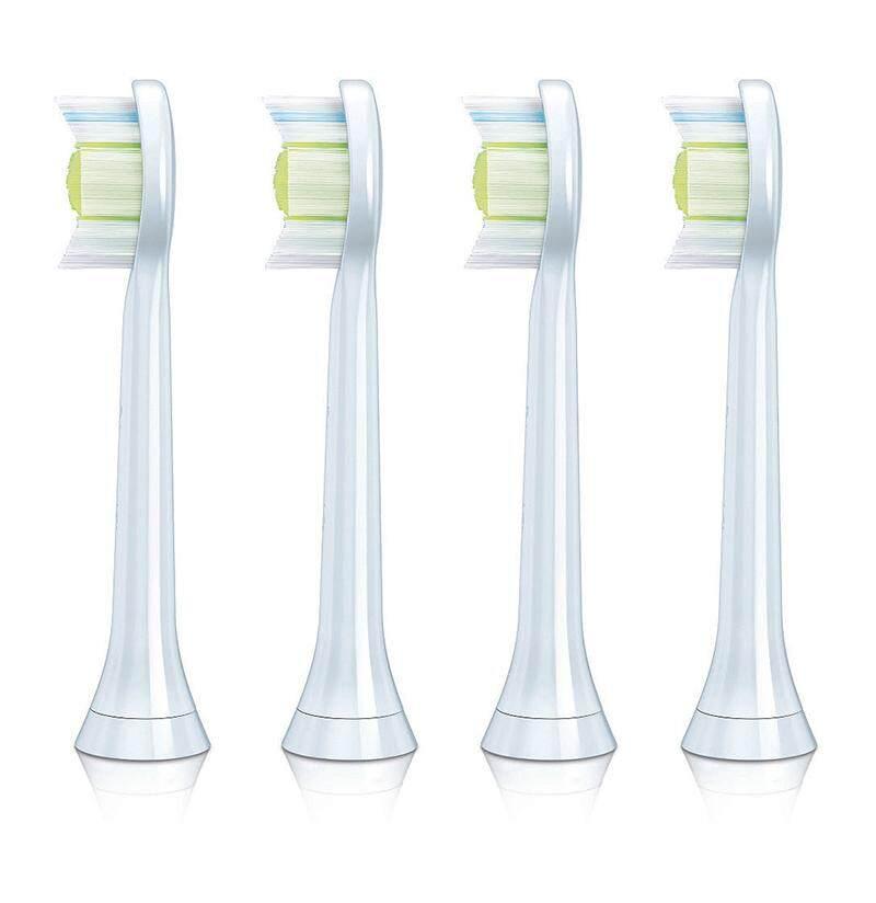 แปรงสีฟันไฟฟ้าเพื่อรอยยิ้มขาวสดใส นครปฐม Denshine 4 ชิ้นแปรงสีฟันไฟฟ้าเปลี่ยนหัวแปรง Fit สำหรับ HX6064   INTL