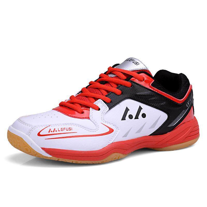 KAILIJIE Mens Sports Training SH-A1 Professional Badminton Shoes (Yellow&Black)