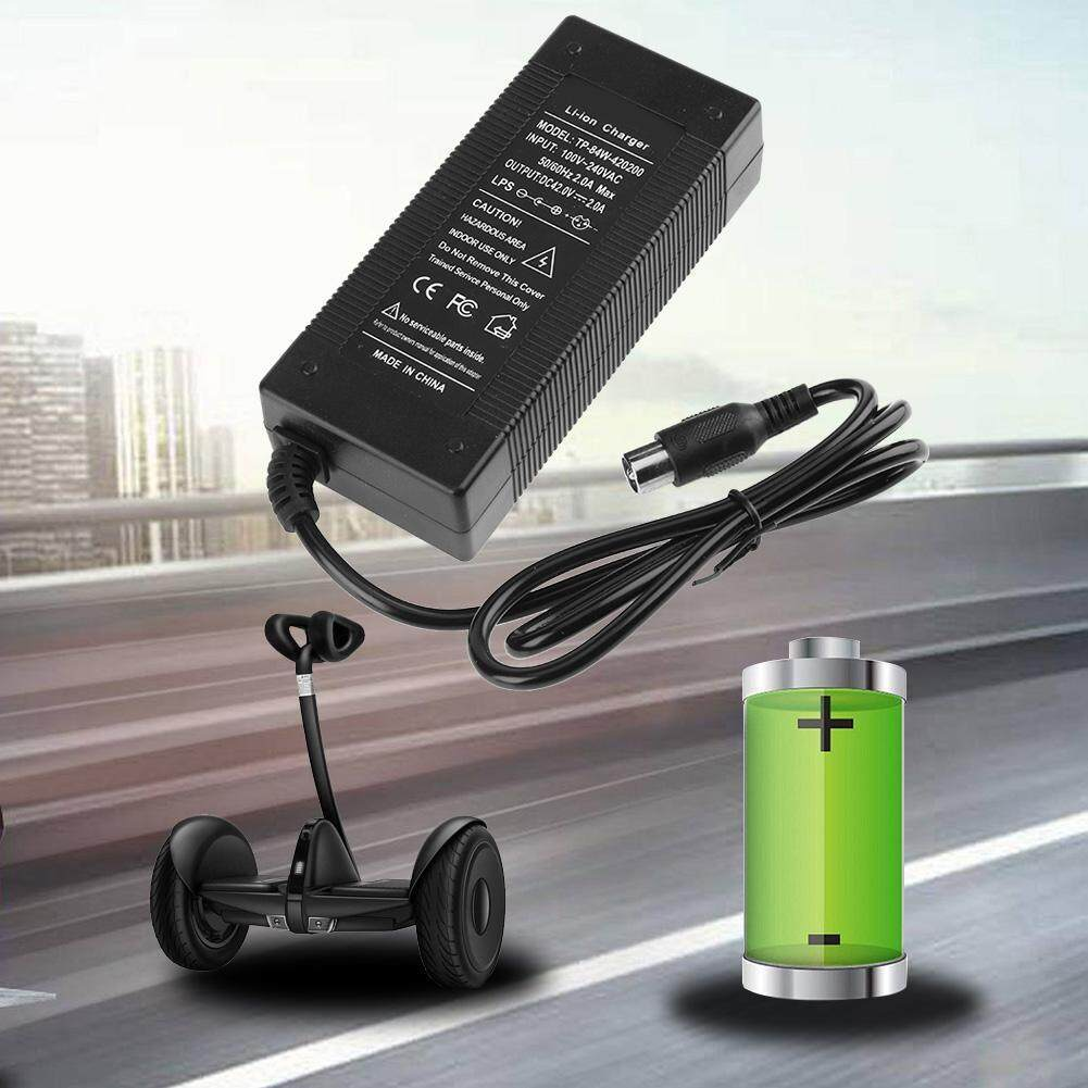 Fitur Rca Plug Charger For 36v Electric Bike Lithium42v 2a 84w Black Batok Carger Detail Gambar Blackus Intl Terkini