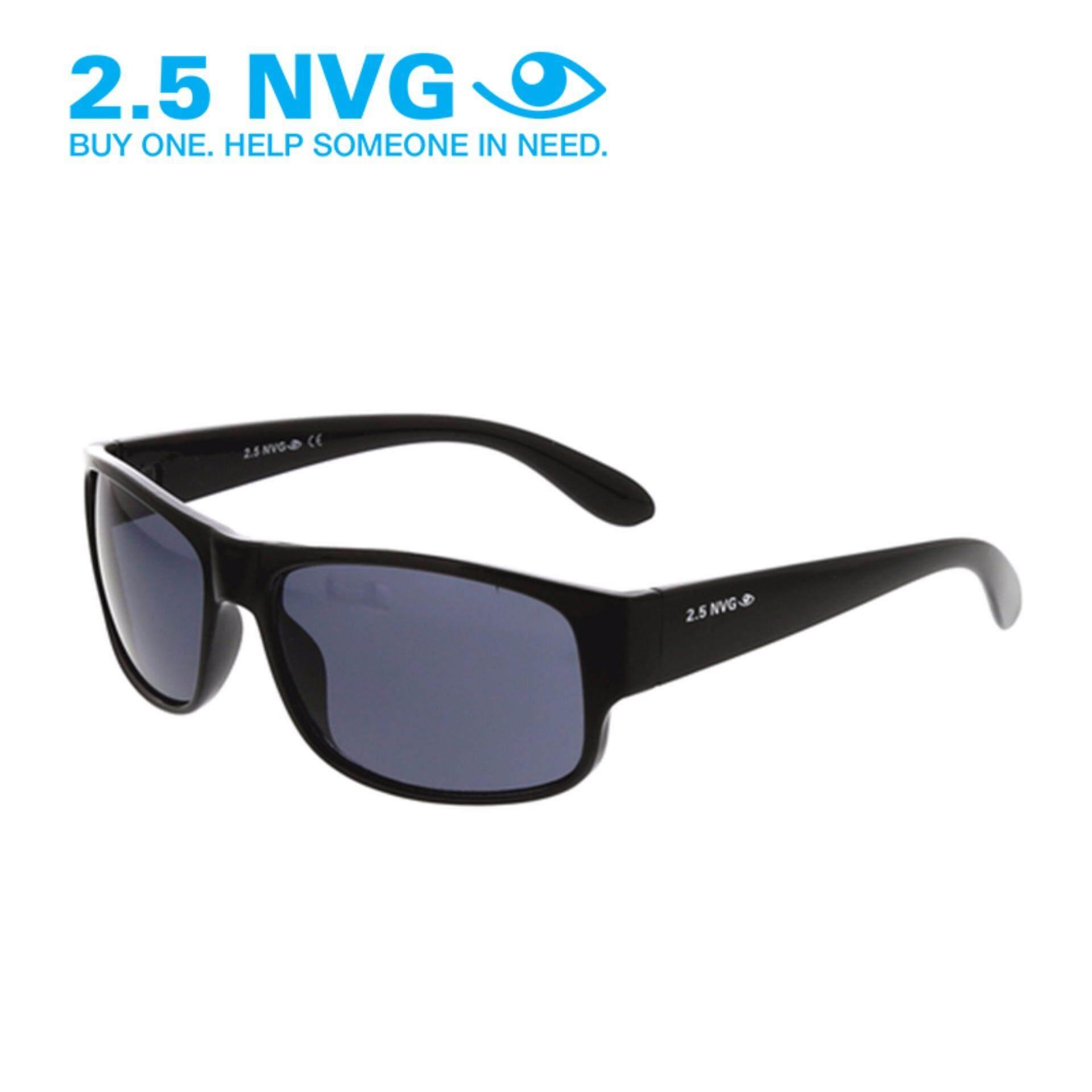 Toko 2 5 Nvg Pria Hitam Sunglasses Round Uv 400 Perlindungan Lensa Hitam Scm 004 By Coolwinks Yang Bisa Kredit