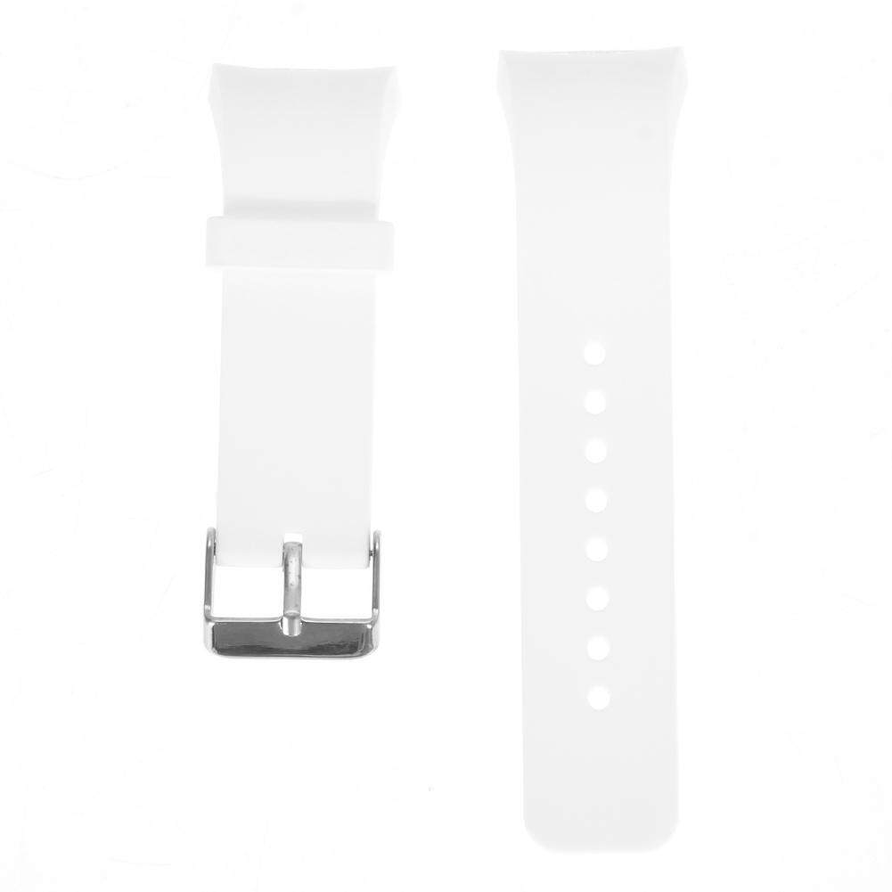 Silicone Watch Band Strap For Samsung Galaxy Gear S2 SM-R720 (White)