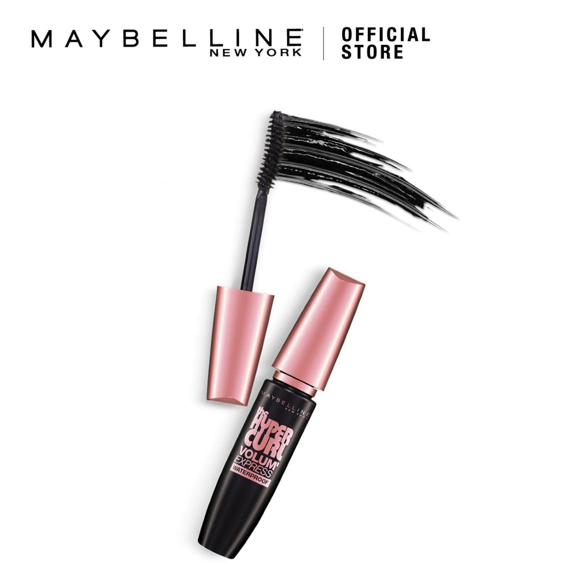 Features Maybelline Volum Express Hypercurl Waterproof Mascara Brown Hyper Curl Detail Gambar Terbaru