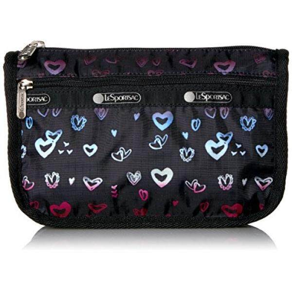 Lesportsac Classic Travel Cosmetic Case Heartbeat
