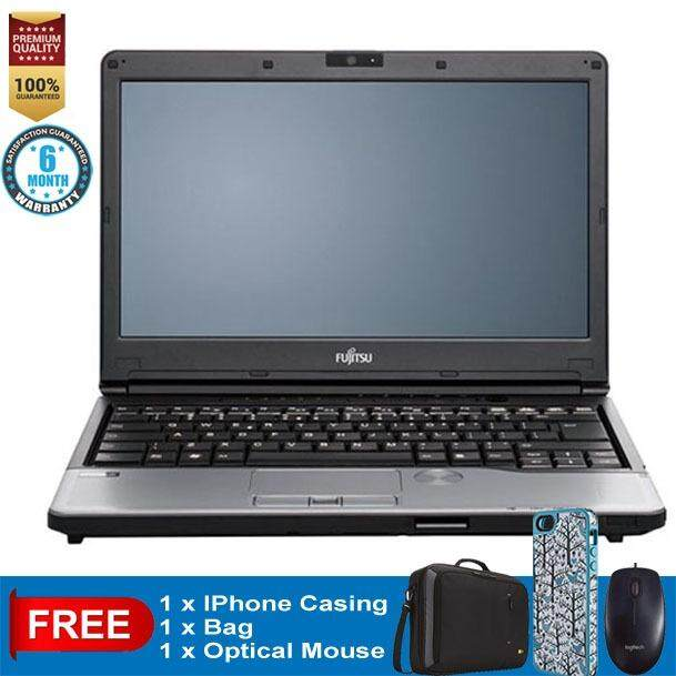 FUJITSU S762 Notebook Ci5 2.53GHz 4GB RAM 640GB 3rd GEN CLEARANCE!! Free IPhone Casing..Refurbished Malaysia