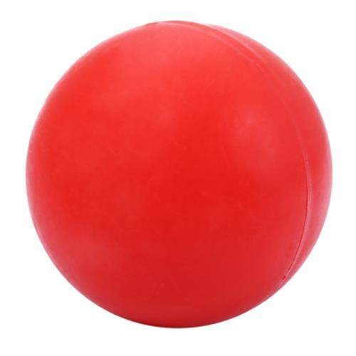 PET BITE-RESISTANT NON-TOXIC ODORLESS RUBBER CHEW BALL TOY (RED)