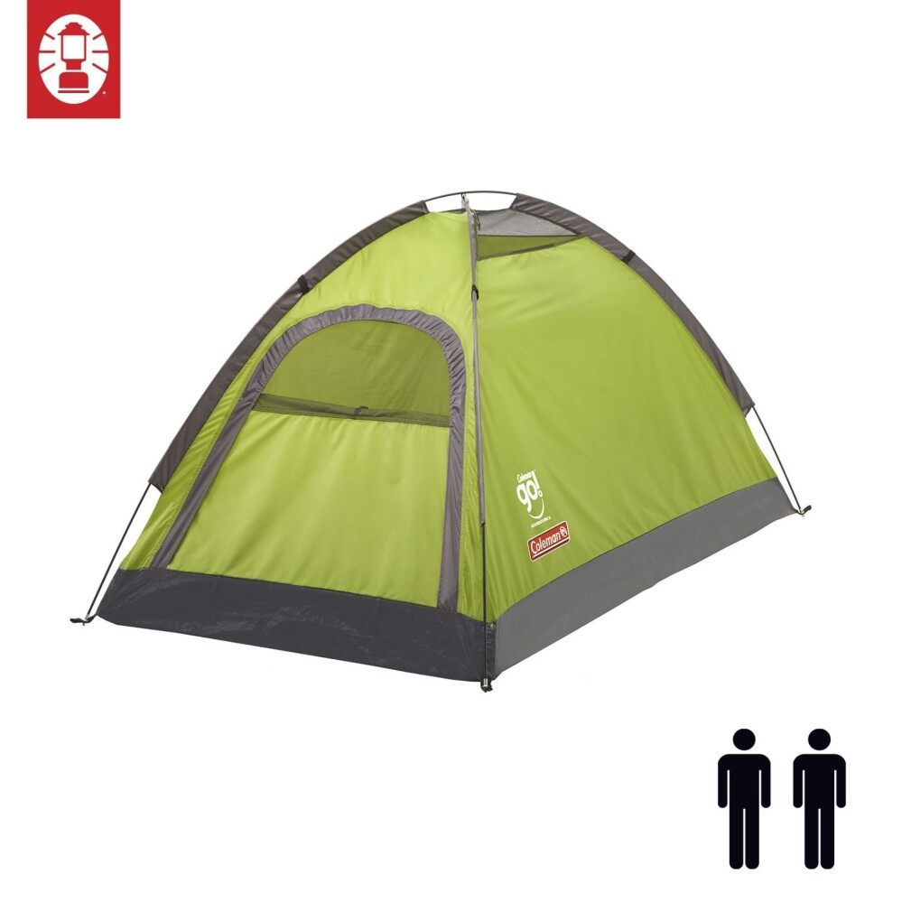 Coleman 2 Person C&ing Outdoor 2P Adventure Tent (Lime/Grey)  sc 1 st  Lazada & Coleman Camping u0026 Hiking Tents price in Malaysia - Best Coleman ...