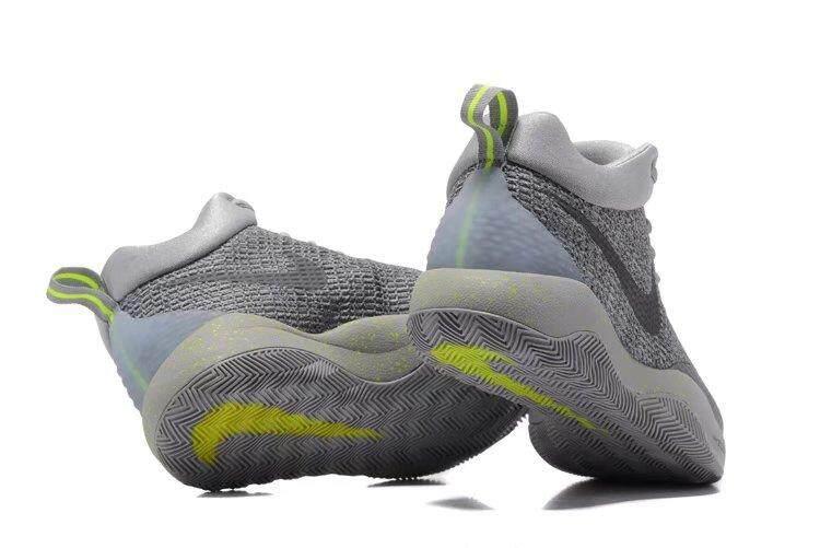 Pria Hyperrev 2017 Sepatu Keranjang Grey Hijau-Internasional