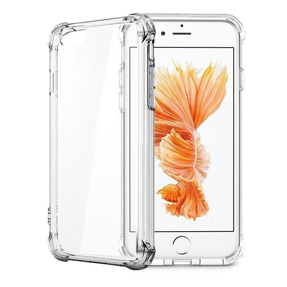 Buy Phone Cases Accessories Anti Crack Case Iphone 7 Plus 8 Cover Shock Air Cushion Clear Soft Thick Bumper