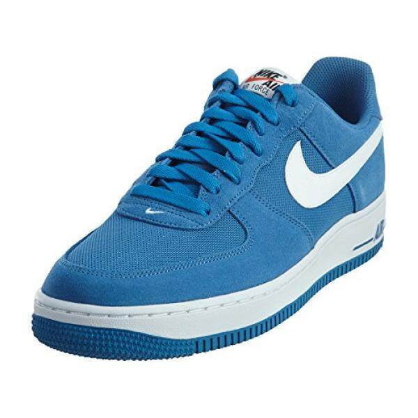 nike air force 1 mens trainers 820266 sneakers shoes (US 9.5, star blue  white