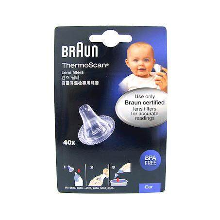 Braun Ear Probe Lens Filters Covers For Braun Thermoscan Thermometers 40's