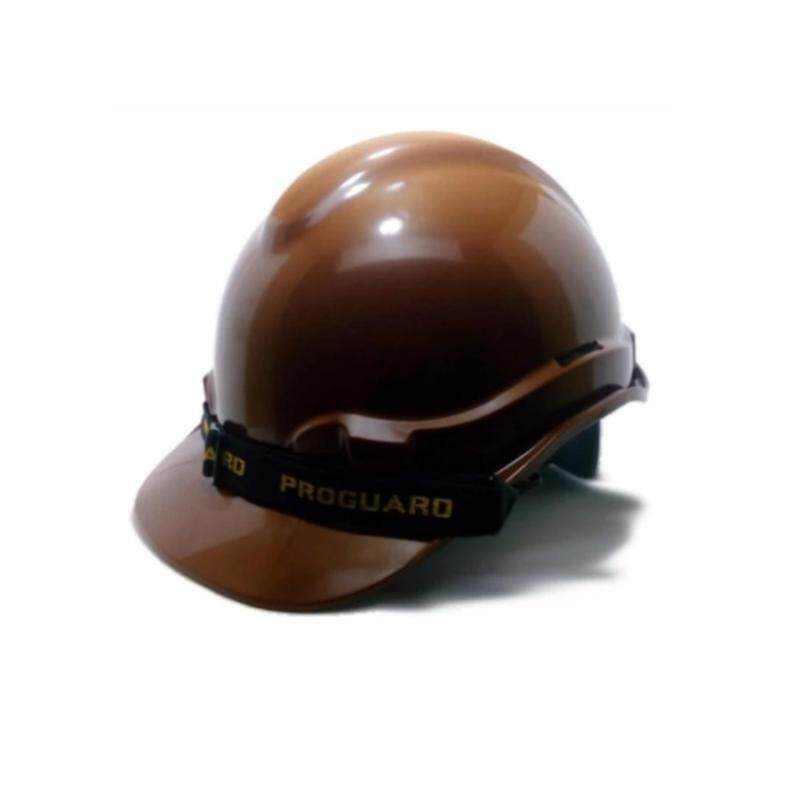 ProGuard Safety Helmet (Brown) for industrial / construction sites (SIRIM)