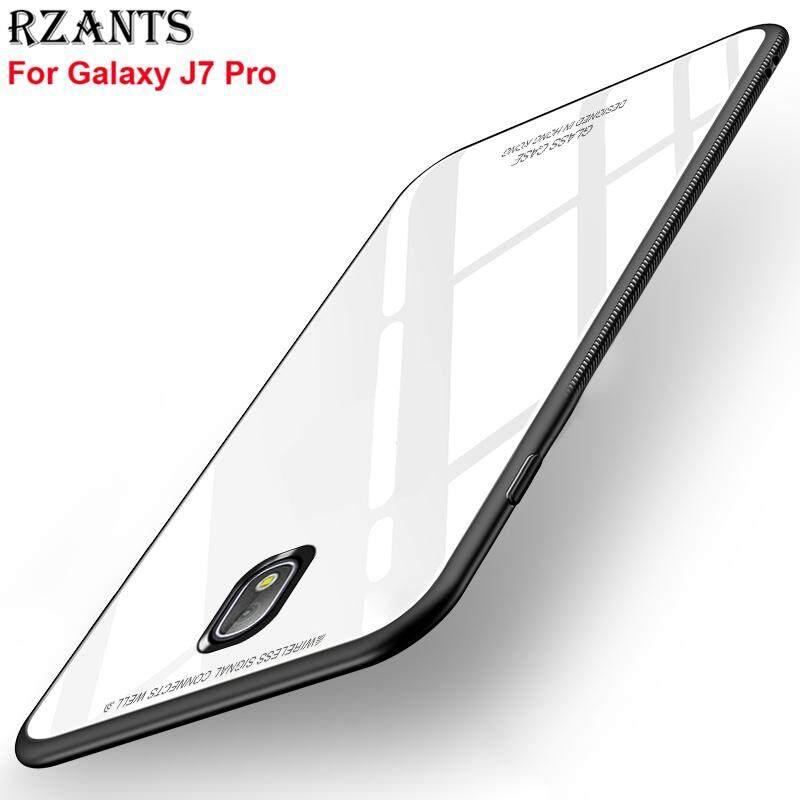 Mã Khuyến Mại Rzants Cho J7 Pro【Glass】Hybrid Bảo Vệ Trong Suốt Sieu Mỏng Nhẹ Lưng Cứng Cho Galaxy J7 Pro Quốc Tế Trung Quốc