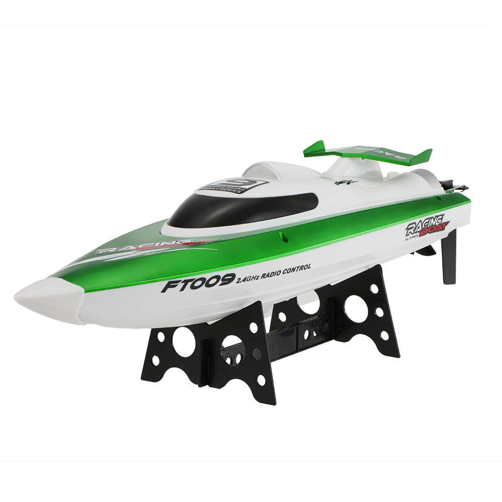 Original Feilun FT009 2.4G 30km/h High Speed RC Racing Boat with Water Cooling Self-righting System Toy Gift