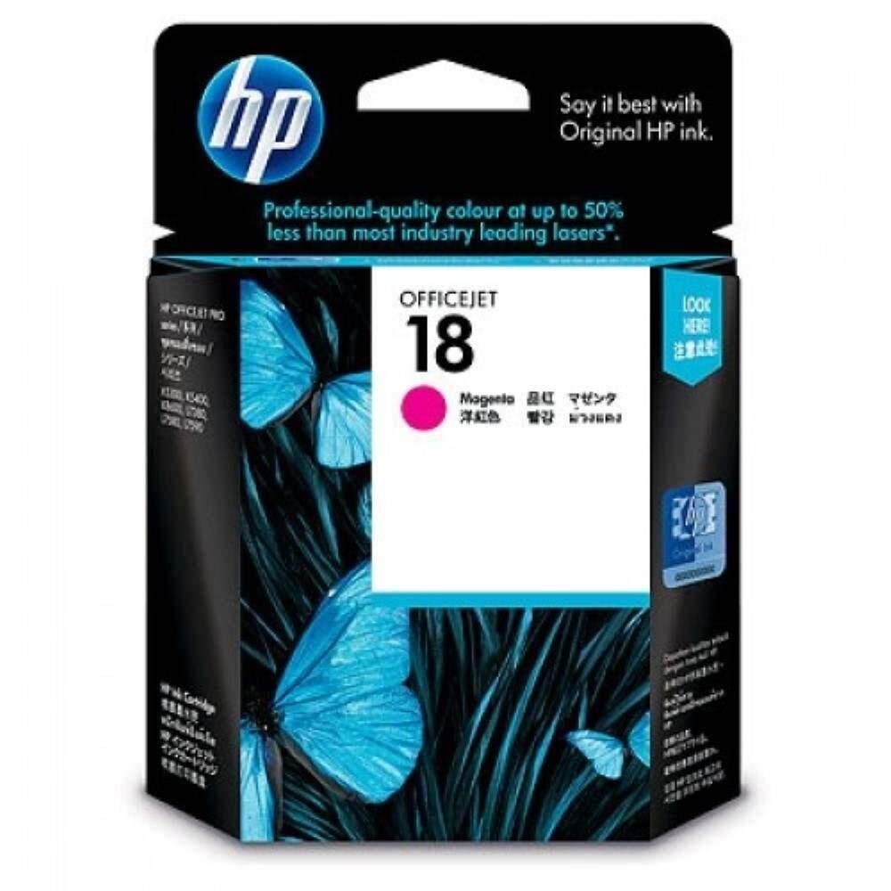 HP 18 Magenta Officejet Ink Cartridge (C4938A)