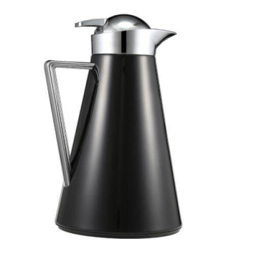 Stainless Steel Vacuum Coffee Insulation Pot (BLACK)