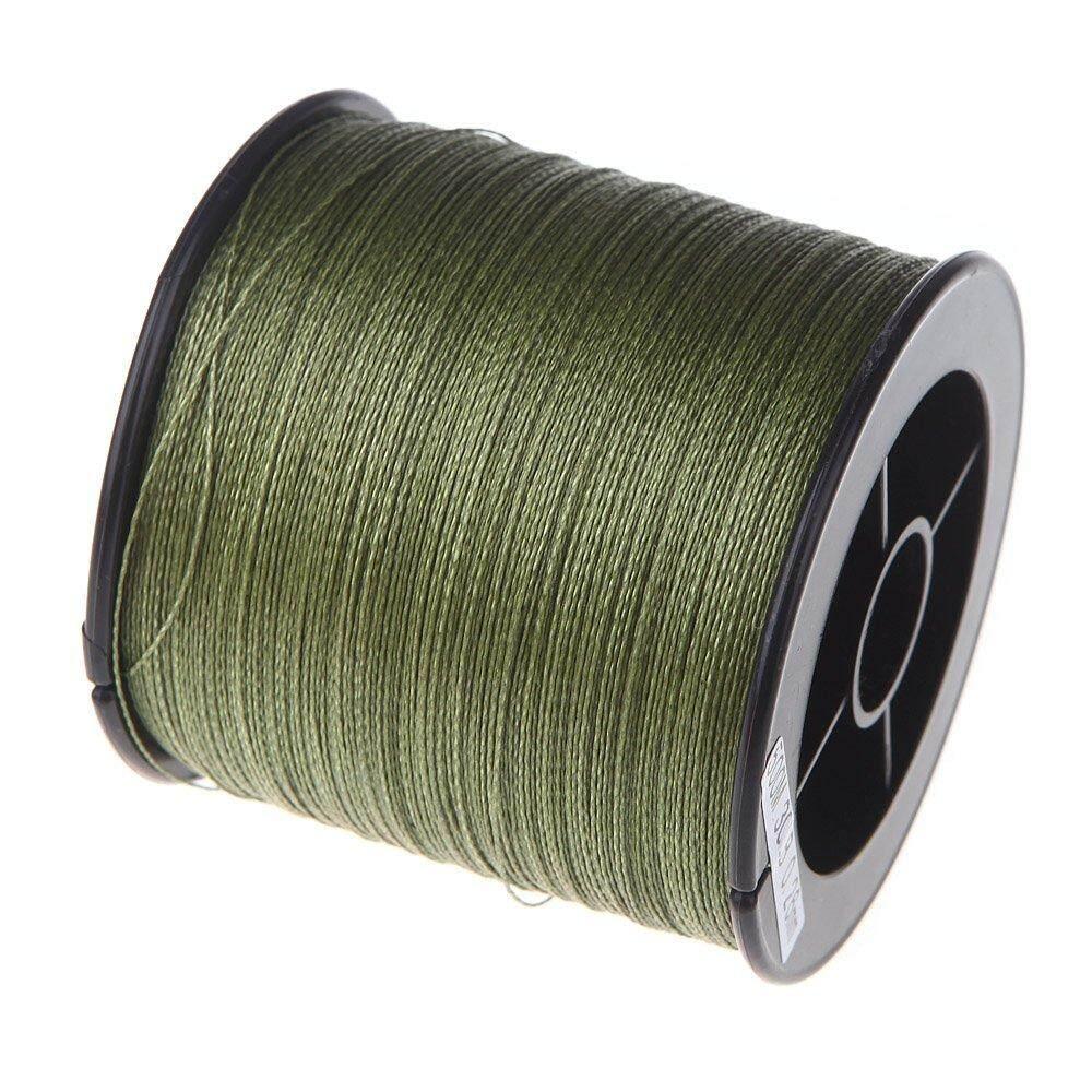 500 M 30 LB 0.26mm fishing line strength PE Braided 4 Strands green