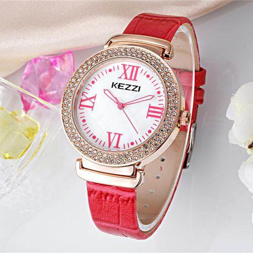 b1c1791da8f fuskm KEZZI Brand 2016 New Luxury Women Watch Creative Fashion Style Ladies  Wristwatches Casual Rhinestone Watch