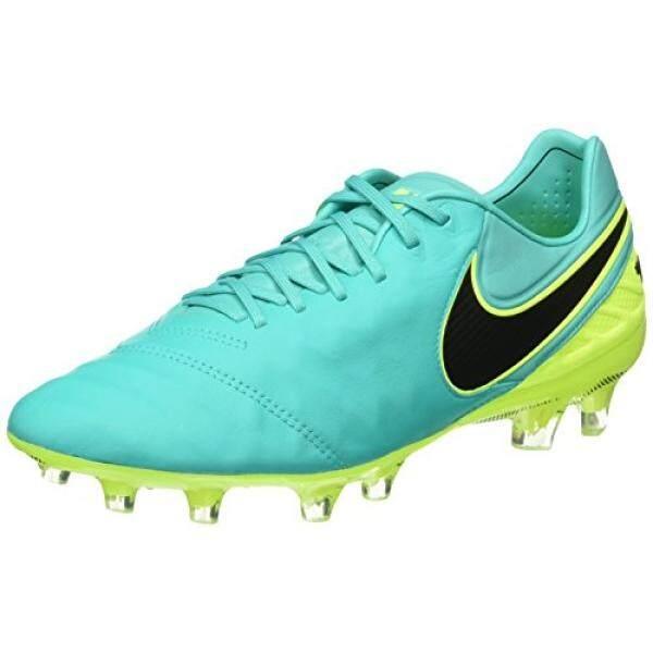 Nike Mens Tiempo Legend VI FG Soccer Cleat Clear Jade - intl