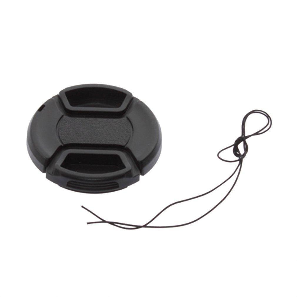 52mm penutup depan lensa Hood topi untuk semua Canon Lens Filter dengan tali hitam