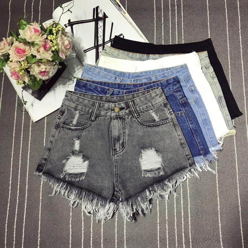 (Pre Order ETA 14/2) Korean Style Women Denim Jeans Short Pants  Collection 327- 3431