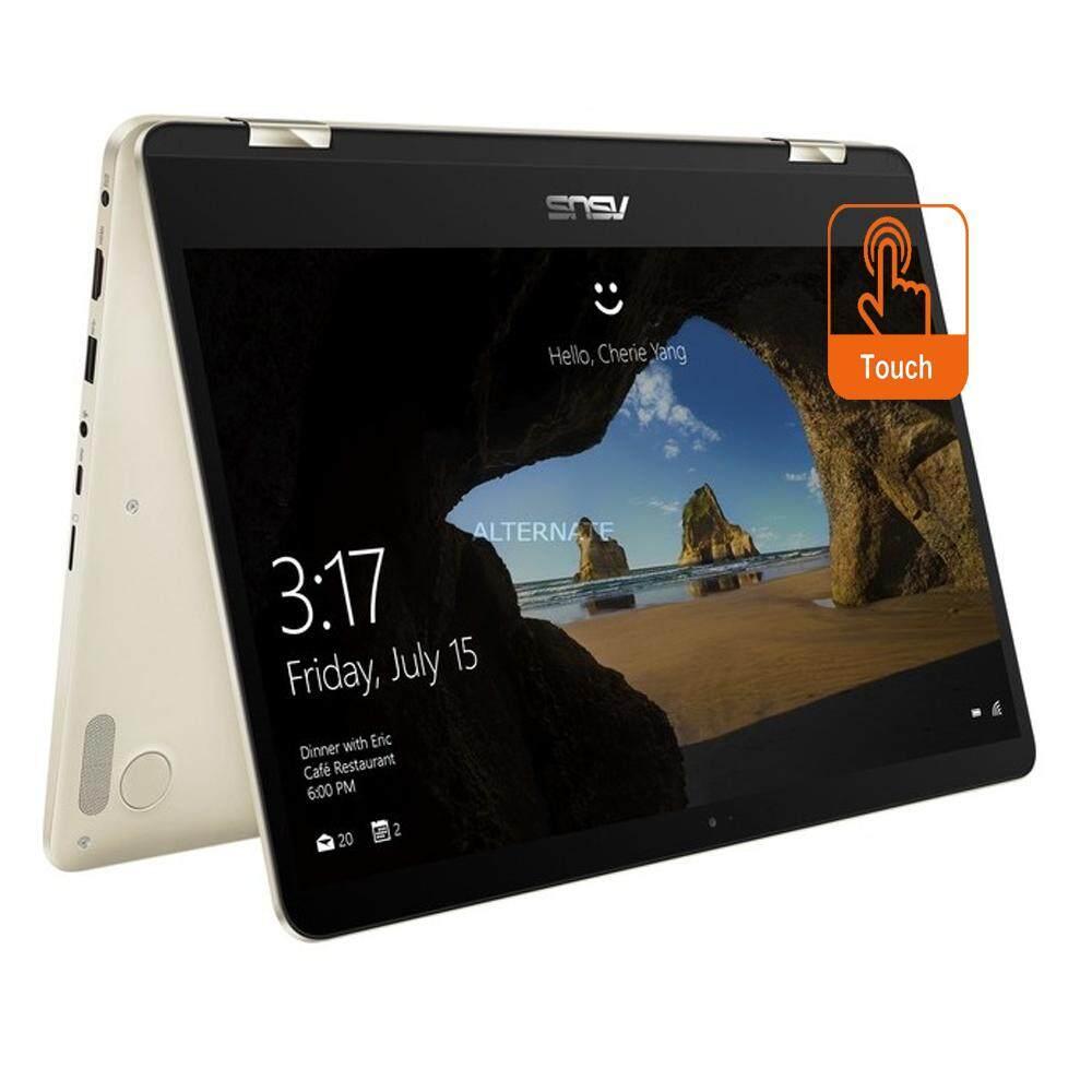 Asus Zenbook Flip UX461U-AE1094T 14 FHD Touch Laptop Gold (i5-8250U, 8GB, 512GB, Intel, W10) Malaysia