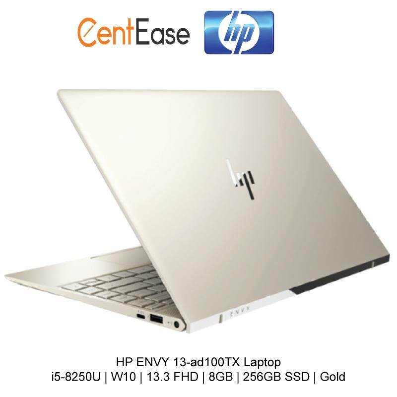 HP ENVY 13-ad100TX Laptop - i5-8250U | W10 | 13.3 FHD | 8GB | 256GB SSD | Gold Malaysia