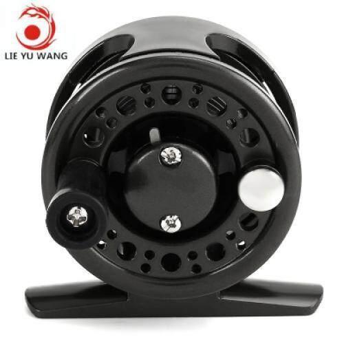 LIE YU WANG 1 + 1BB Ice Flying Raft Fishing Fly Fish Reel Wheel (GUN METAL)