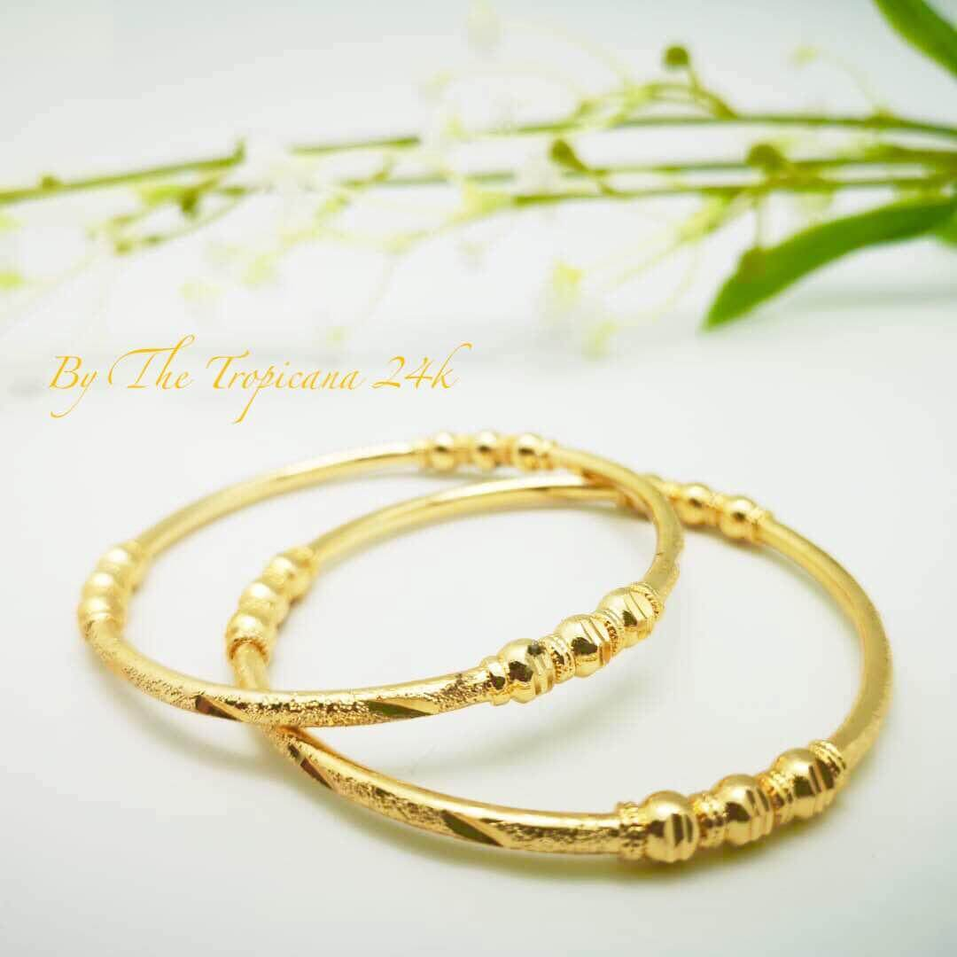 Seller Of Gelang Tangan Emas Korea Glg001b Price Update Situs Sadur The Tropicana 24k Goldplated Banglegelang