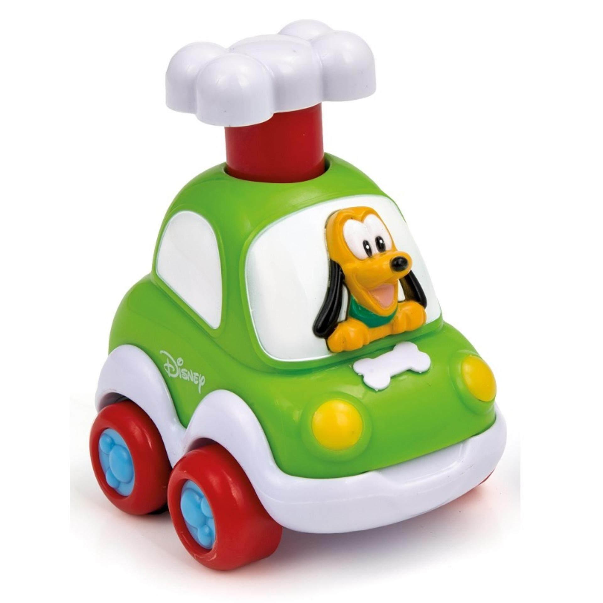 Disney Baby Press & Go Cars Toys - Pluto baby toys