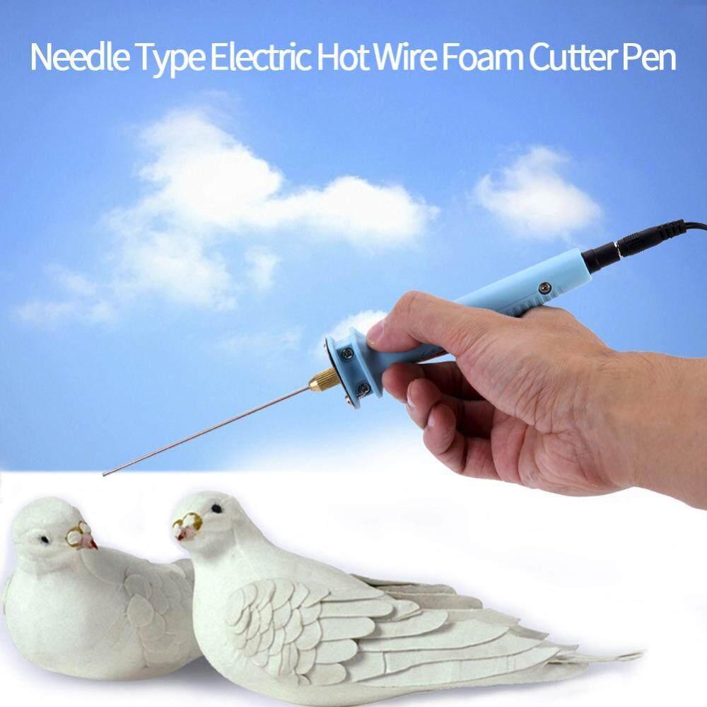 niceEshop Foam Cutter Electric Pen Tools Kit, 100-240V/15W Craft Hot 10CM  Styrofoam Cutting Pen With Electronic Voltage Transformer Adaptor ,US Plug  -
