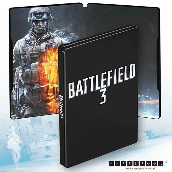 NEW Battlefield 3 Steelbook (No Game)