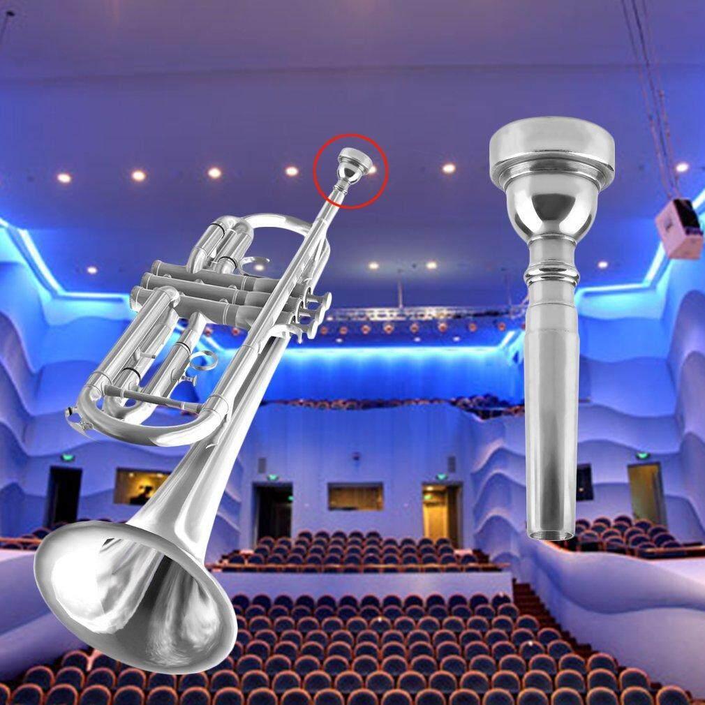 OSMAN Corong Terompet untuk Bach 3C Ukuran Berlapis Perak Alat Musik Baru