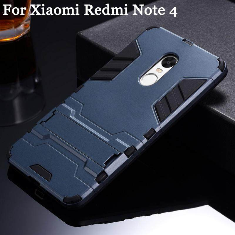 Aging For Xiaomi Redmi Note 4 Case Rugged Amor Shockproof Silicone TPU Hard Plastic Back Handphone