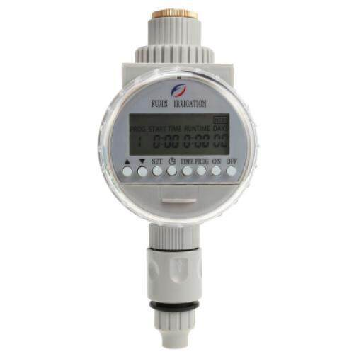 FUJINIRRIGATION Automatic Timer Irrigation Controller Watering System (GRAY)