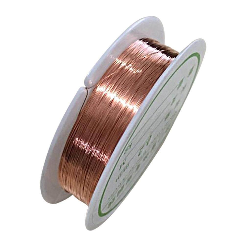 0.8 มิลลิเมตรทองแดงลวดทองแดงเครื่องประดับทำอุปกรณ์ Diy หัตถกรรม - นานาชาติ.