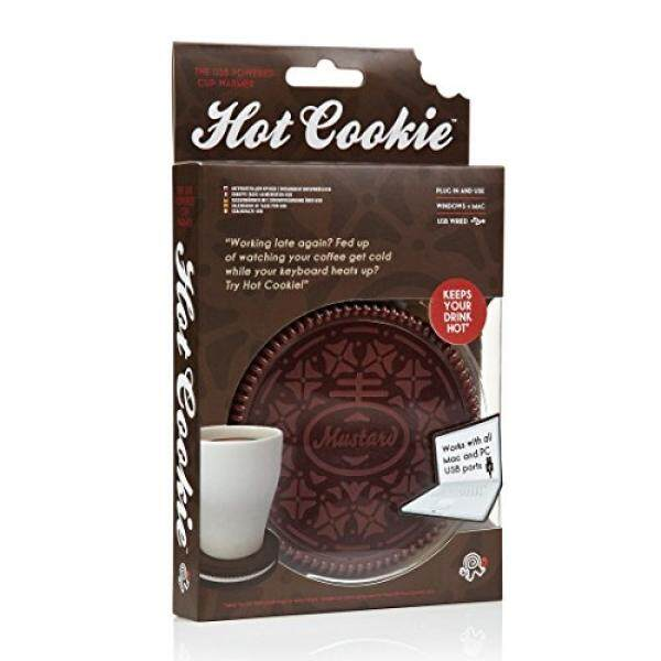 Mug Mug Mug Mustard Lebih Hangat Coaster-Gelap Cokelat Seksi Kue Kering (NG1702)-Internasional
