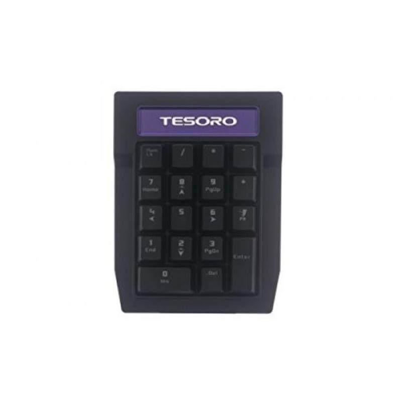Tesoro Tizona Numpad G2N-P Blue Mechanical Switch Tenkey Tournament Gaming Numeric Mechanical Keypad TS-G2N-P (BL) - intl Singapore